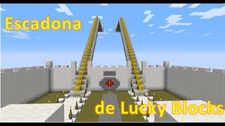 Minecraft: Escadona de Lucky Blocks! - Download do Mapa