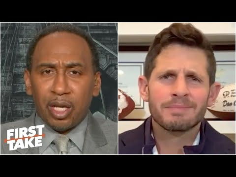 Stephen A. Rips Dan Orlovsky For Ranking Carson Wentz Above Aaron Rodgers   First Take