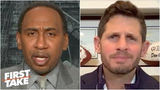 Stephen A. rips Dan Orlovsky for ranking Carson Wentz above Aaron Rodgers | First Take