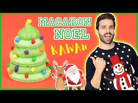 recette-macaron-noel-kawaii---carl-is-cooking