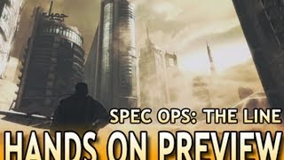 Spec Ops The Line Gameplay Preview Walkthrough NEW HD | Xbox 360, PS3, PC | Star Wars HQ