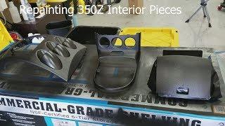 350Z Painting Center Dash & Shift Bezel Painting Interior 350Z Episode 5