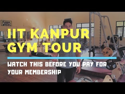 How good is the gym at IIT Kanpur? | IIT Kanpur Gym Tour