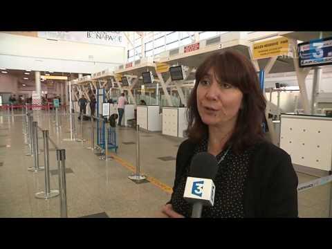 Le personnel au sol d'Air France dépose un préavis de grève hebdomadaire à l'aéroport d'Ajaccio