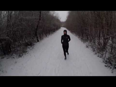 Snow run with the Mrs