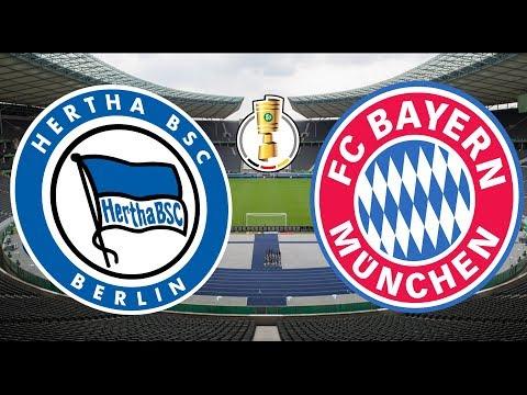 Hertha BSC Berlin Vs FC Bayern München DFB POKAL Achtelfinale 2018/2019 Orakel