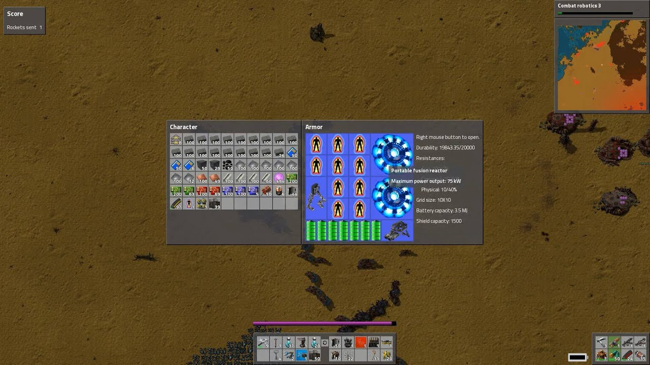 Factorio: How To Destroy Alien Nest Alone   YouTube