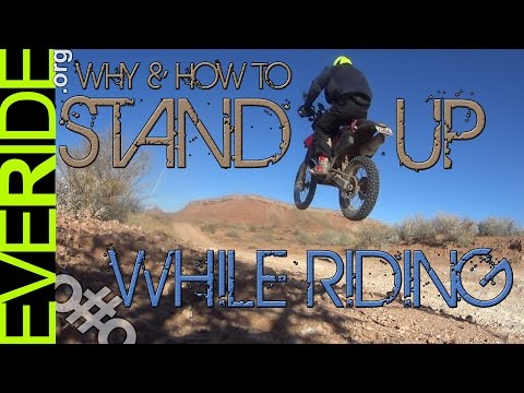 The Most Important Tip for New Off-Road ADV & Dual Sport Riders - STAND o#o