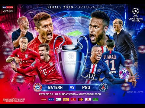 Psg Vs Bayern Munich Uefa Champions League 2020 Partido Completo Final Gameplay Youtube
