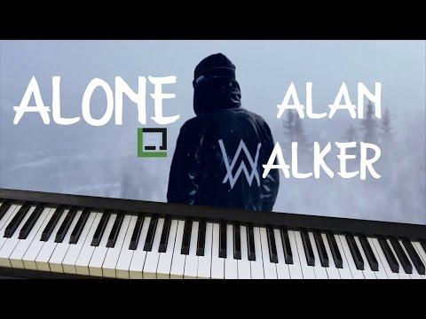 ALONE (Alan Walker) - LACrrangement Piano Cover
