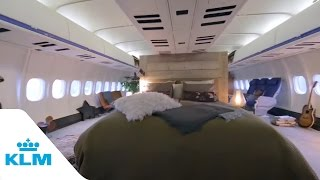 Airbnb & KLM - The Airplane Apartment