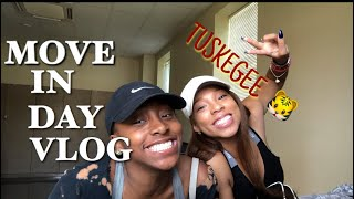 COLLEGE MOVE IN DAY VLOG: HBCU EDITION |TiffanyFelise
