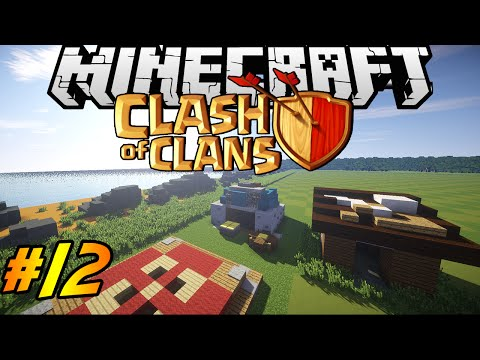 Clash of Clans in Minecraft | Making of #12 | Gold Mines, Builder Hut