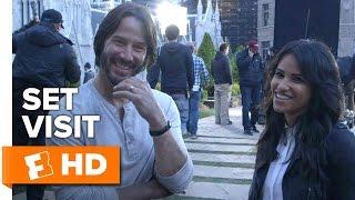 John Wick: Chapter 2 Exclusive Set Visit (2016) - Keanu Reeves Movie