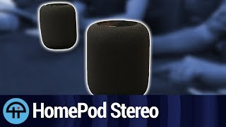 Setting up Apple HomePods as a Stereo Pair