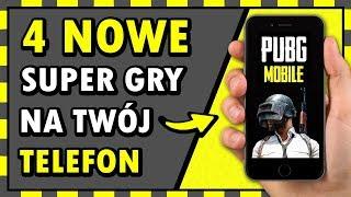 4 MEGA KOZACKIE GRY na TELEFON!  (w tym: PUBG Mobile + KONKURS NA PS4!) ◉_◉