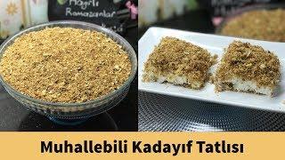 Muhallebili Kadayıf Tatlısı Tarifi (Ramazan Tatlıları) - Naciye Kesici - Yemek Tarifleri