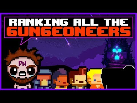 Ranking Enter the Gungeon's Characters!