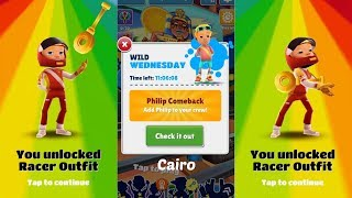 "Subway Surfers : Cairo (Wild Wednesday ""Philip Comeback"") Gameplay On IOS"