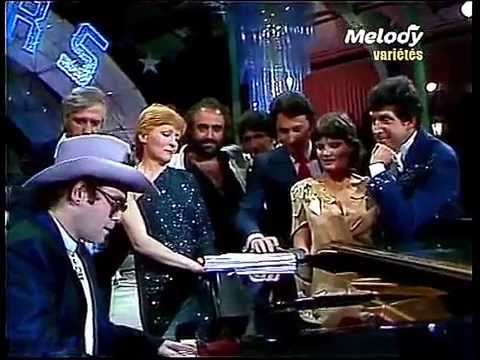 Elton John - Song for Guy (1981) Live in France with Jean-Claude Petit - HD