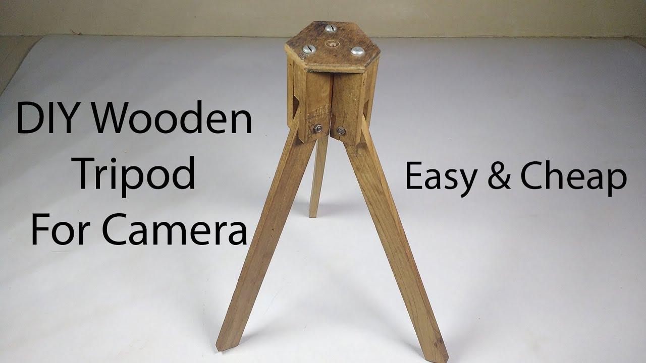 how to make a homemade camera tripod