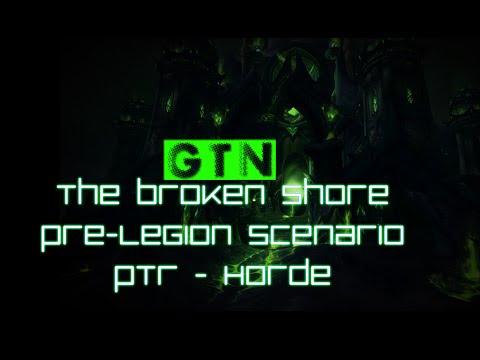 The Pre-Legion Broken Shore Scenario - Horde *Spoilers Ahead*