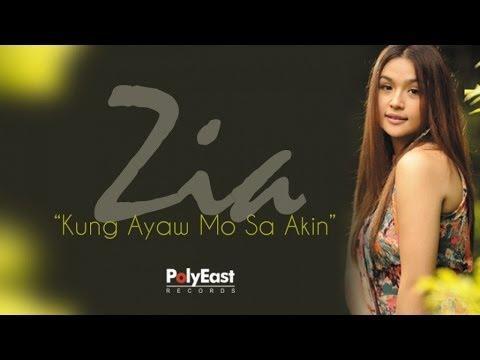 Zia Quizon - Kung Ayaw Mo Sa Akin (Lyric Video)
