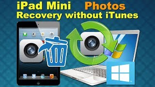 Dr.Fone for iPad Mini: retrieve data / recover lost Photos from iPad Mini without iTunes backup