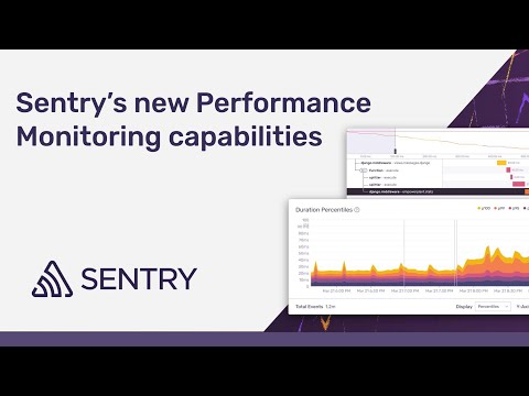 How to configure & use Performance Monitoring by Sentry