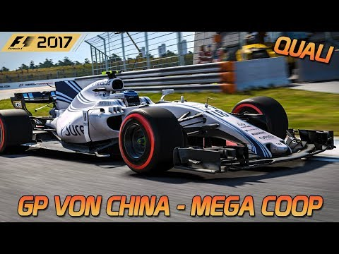 Mega Coop in China - Quali | F1 2017 [HD] [GER] Shanghai International Raceway