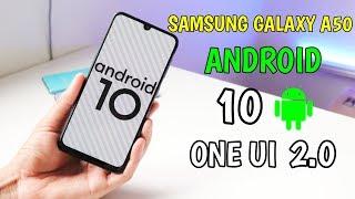 Actualizacion De Android 10 En Samsung Galaxy A50 Con ONE UI 2.0