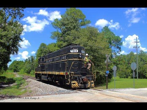 Atlantic Coast Line 100 Working in Gainesville, FL - August 22, 2016