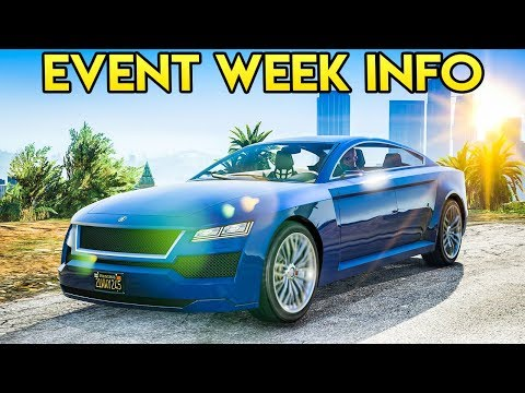 GTA Online NEW Event Week Details - Targeted Sales, Double GTA$ Races & MORE