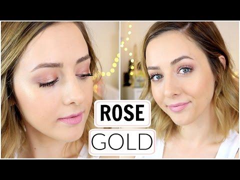 Spring Rose Gold Makeup Tutorial!
