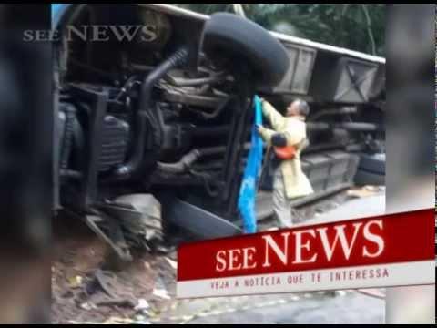 Acidente de ônibus deixa mortos e feridos em Paraty Rio de Janeiro