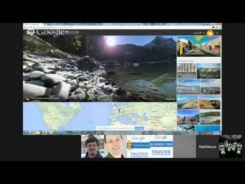 Create your own street view on Google Views