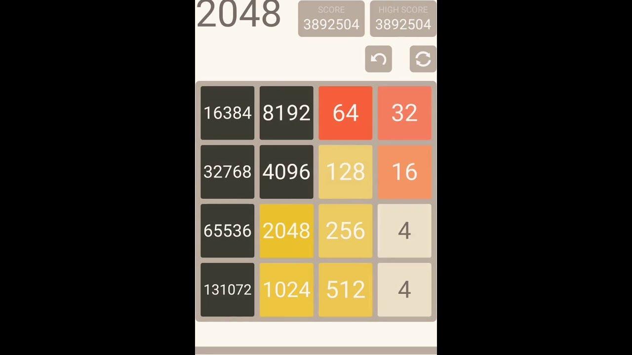 2048 World Record - 4x4 [2018]