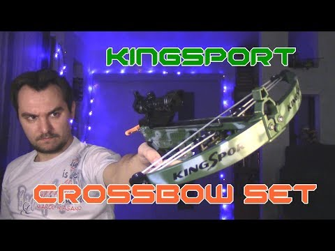 Обзор арбалета KingSport - Crossbow set