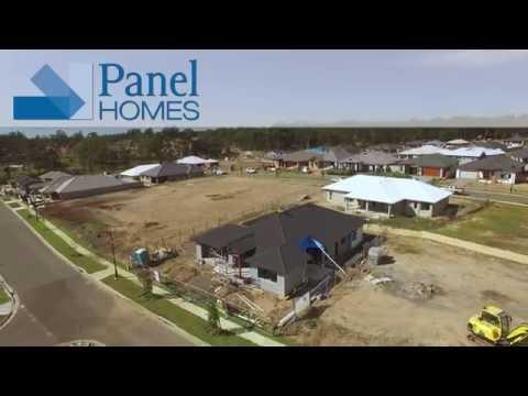 Pre-cast Concrete Construction - Panel Homes Australia