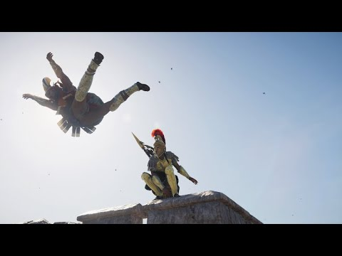 Killing and wiping an entire Military Fort without being detected (AC Odyssey Gameplay) |