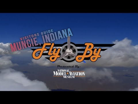 """Fly By - """"Muncie Indiana Visitors"""