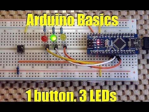 Arduino Basics Handling Multiple States