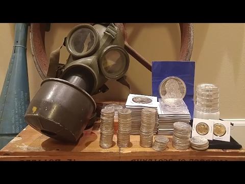 33 + Ounces Pre 1964 90% Silver US Coins (Junk Silver)
