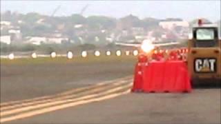 Cartagena - Despegue del primer Airbus A321[N696AV] de Avianca -2014