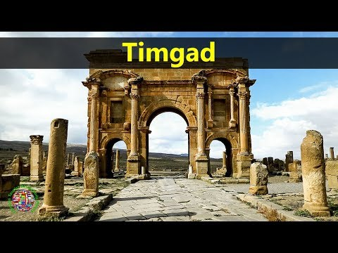 Best Tourist Attractions Places To Travel In Algeria | Timgad Destination Spot