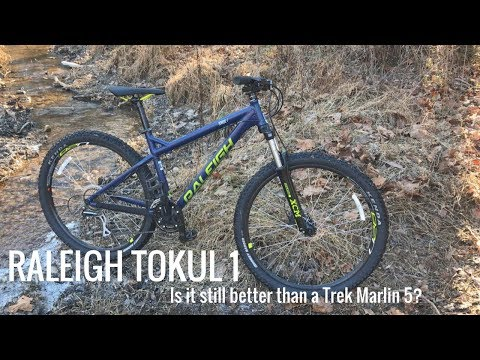 Raleigh Tokul 1 MTB - Is It Still Better Than A Trek Marlin 5?