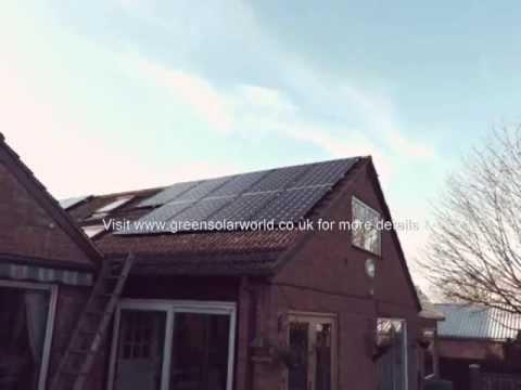 Green Solar World best solar panels installer from Cambridge, UK