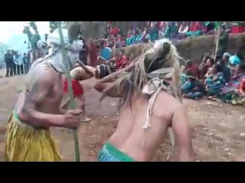 Lakhe Nach Nepal Tamang Community