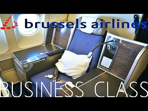 Brussels airlines BUSINESS CLASS Brussels to Toronto|A330-200