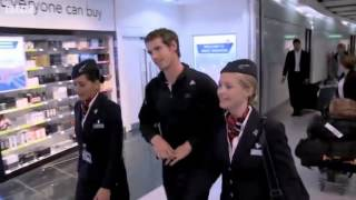 BBC News   Andy Murray arrives at Heathrow after the US Open mp4